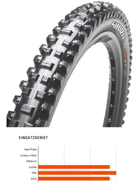 "Maxxis Shorty - Pneu vélo - 27.5"" 3C MaxxGrip DD TR souple noir"